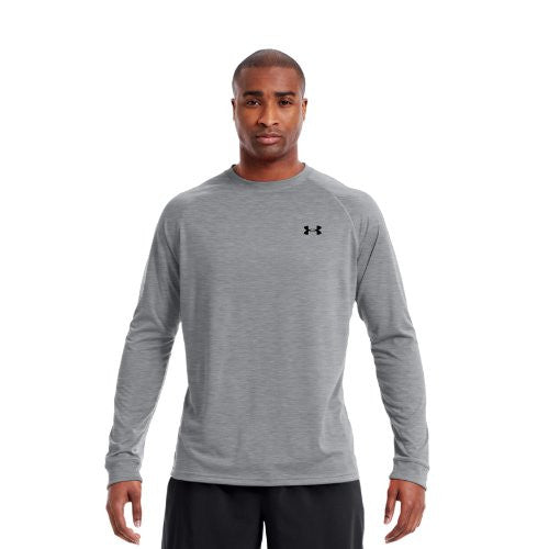 Tech Longsleeve T-Shirt - True Gray Heather, Medium