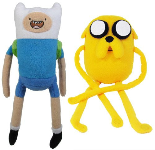 Adventure Time 10-Inch Finn and Jake Plush (set of 2)
