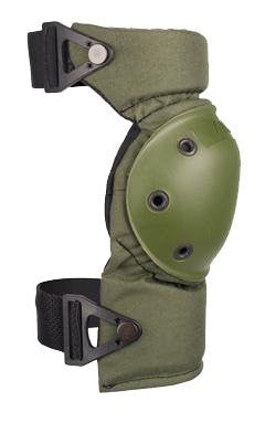 AltaCONTOUR Knee Pads -AltaLok (Color: Olive Green)