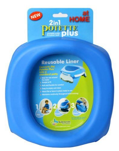 STYLE 2734 - POTETTE PLUS AT HOME REUSABLE LINERS - Blue