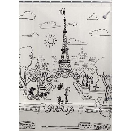 Paris Day Shower Curtain