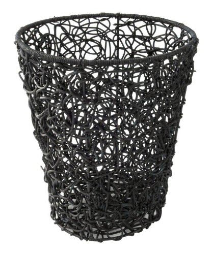 Tree Waste Basket - Brown