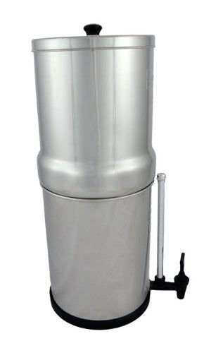 Royal Berkey™ 3.25 Gal Stainless Steel Water Purifier with 2 Black Berkey™ Purification Elements