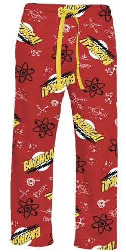 Big Bang Theory Bazinga Lounge Pants (x-large)