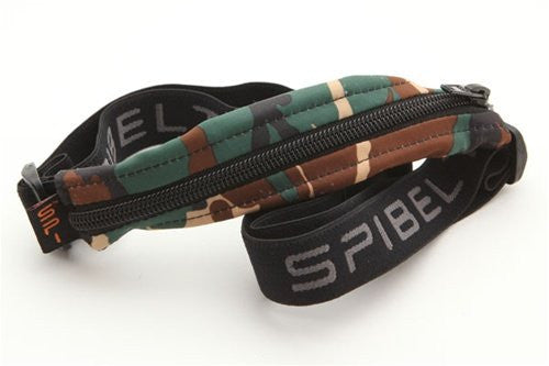 Kids' SPIbelt Prints (Color: Camo with Black Zipepr)