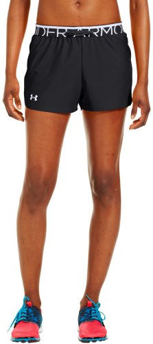 Women's Play Up Short - Black, Large