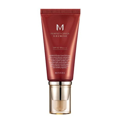 M Perfect Cover BB Cream SPF 42 PA+++ 50ml No.27 (Honey Beige)