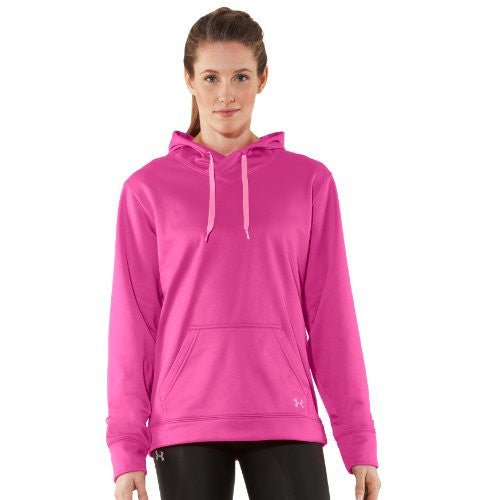 I Will Hoody - Fluo Pink, Large