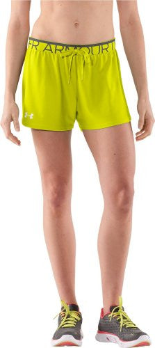 Women's Play Up Short - High-Vis Yellow, Large