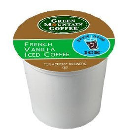 Green Mountain Coffee® French Vanilla Iced Coffee K-Cup® Packs, 22/Bx
