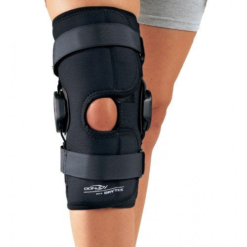 DonJoy Deluxe Hinged Knee Brace (Size: XS)