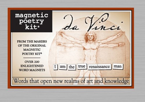 Magnetic Poetry Kit: Da Vinci