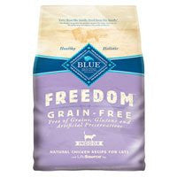 BLUE FREEDOM INDOOR CAT GRAIN FREE 11LB BG