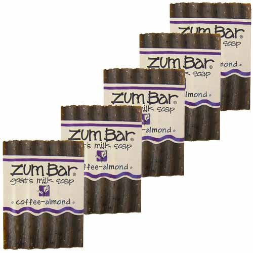 ALL-NATURAL GOAT'S MILK SOAP COFFEE-ALMOND ZUM BAR 3oz