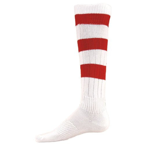 Big Stripe, Large, White/Red