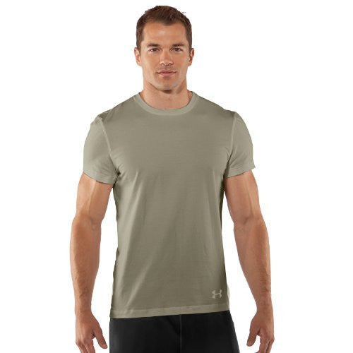 Tac Charged Cotton Tee - Desert Sand, Large