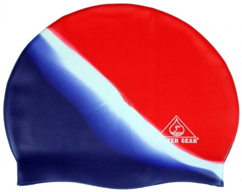 Silicone Jazz Cap (Red/White/Blue)