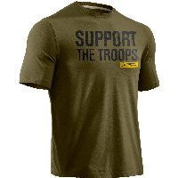 Freedom Support I Will Tee-Shirt - White, 2X-Large