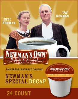 Newman's Own® Special Decaf Coffee K-Cup® Packs, 24/Bx