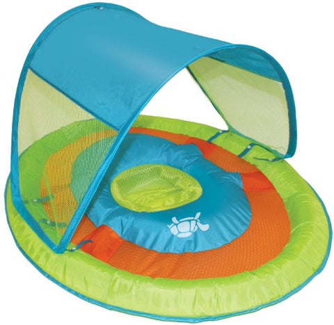 Baby Spring Float Sun Canopy Assortment - Green Turtle