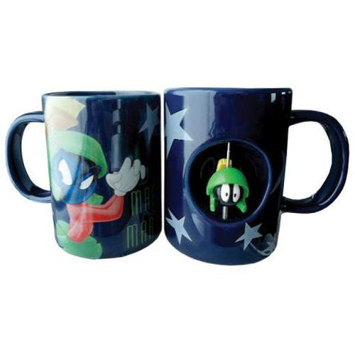 Looney Tunes Marvin the Martian Ceramic Spinner Mug (12oz)