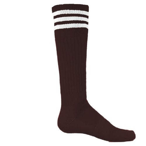 Mach III, Medium, Maroon/White