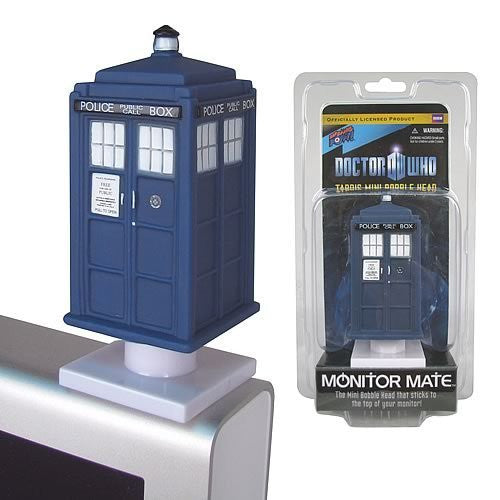Doctor Who TARDIS Monitor Mate Bobble Head