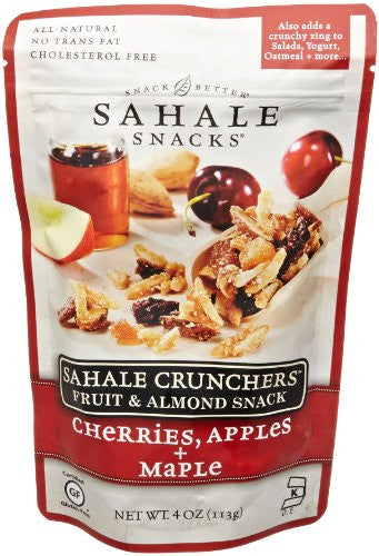 Cherries, Apples & Maple Crunchers 4.0 OZ (Pack of 6)