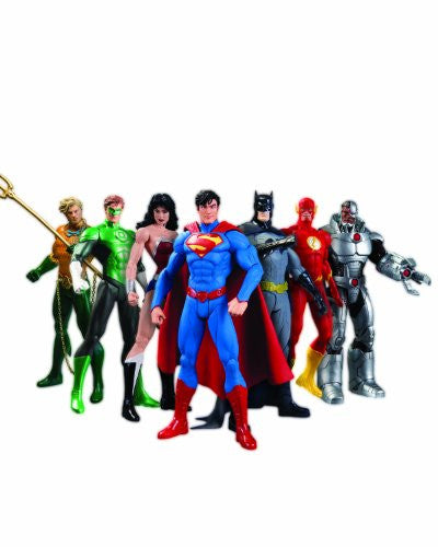 Justice League New 52 Box Set Action Figure 7-Pack