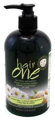 Hair One Almond Oil Cleanser & & Conditioner 12oz