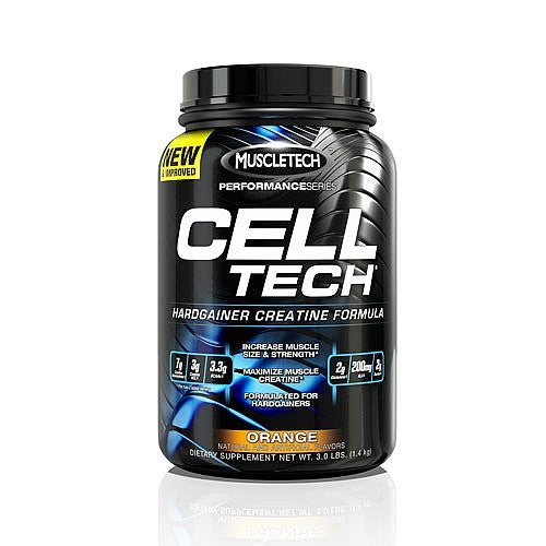 MuscleTech Performance Series Cell-Tech Orange 3 lbs Creatine
