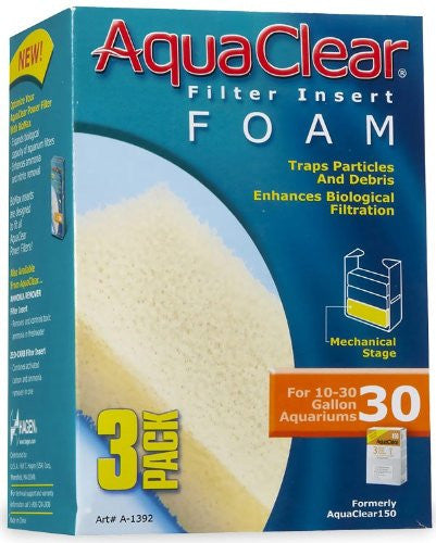 AquaClear 30 Foam Insert (3/pack)