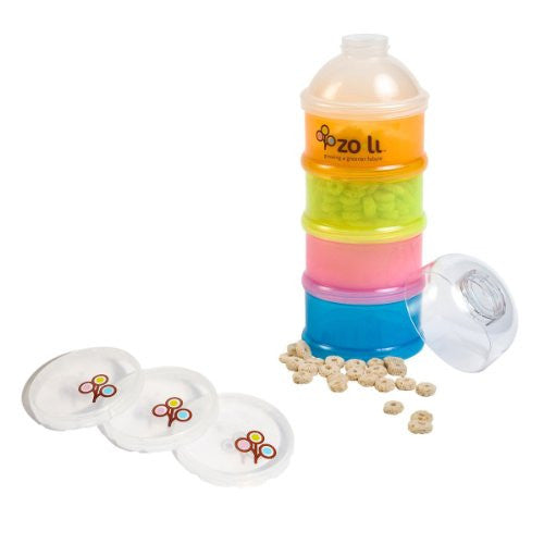 The Zoli Baby On-The-Go Formula & Snack Dispenser
