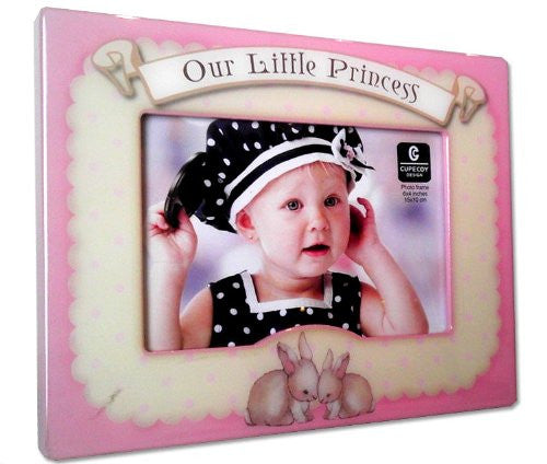 Cupecoy Design Wooden Little Princess Photo Frame