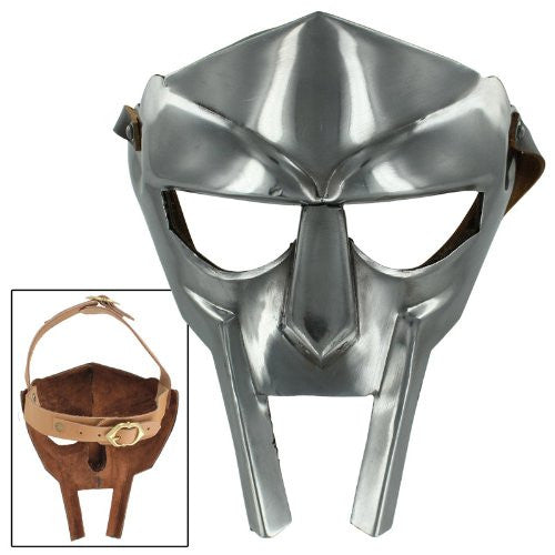 MF Doom Rapper Madvillain Fantastic Four Gladiator Mask