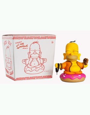 The Simpsons Homer Buddha 6 inches