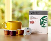 Starbucks® Pike Place® Roast brewed coffee Verismo™ Pods