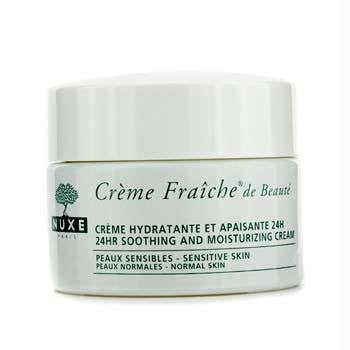 Moisturizers - 24HR Moisturizing Care - Crème Fraiche de Beaute * 24 hr soothing and moisturizing cream (Normal Skin) - 50 ml jar