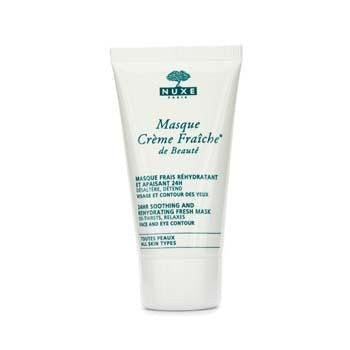 Moisturizers - 24HR Moisturizing Care - Masque Crème Fraiche de Beaute * 24 hr soothing and rehydrating fresh mask - 50 ml tube