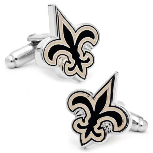 Buffalo Bills Cufflinks (Color: New Orleans Saints)