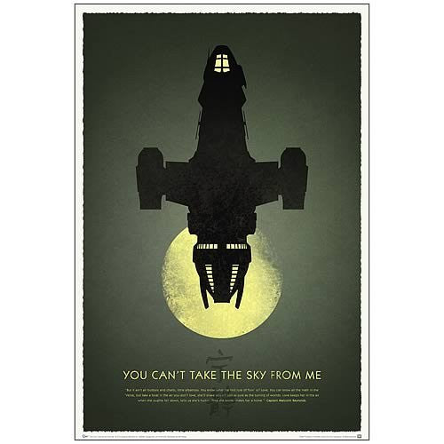 Firefly 10th Anniversary - You Can't Take the Sky from Me TV Poster - 27x40