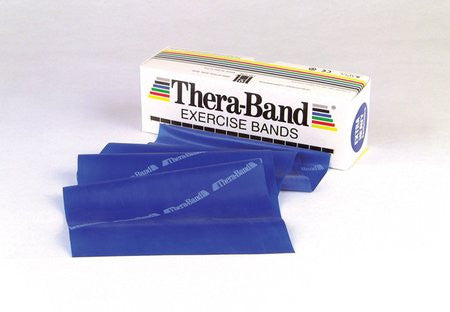 THERA-BAND® Professional Resistance Bands - 6-Yard Dispenser Box - Blue / EXTRA HEAVY