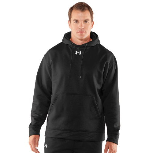 Armour Fleece Team Hoody - Black, 2X-Large