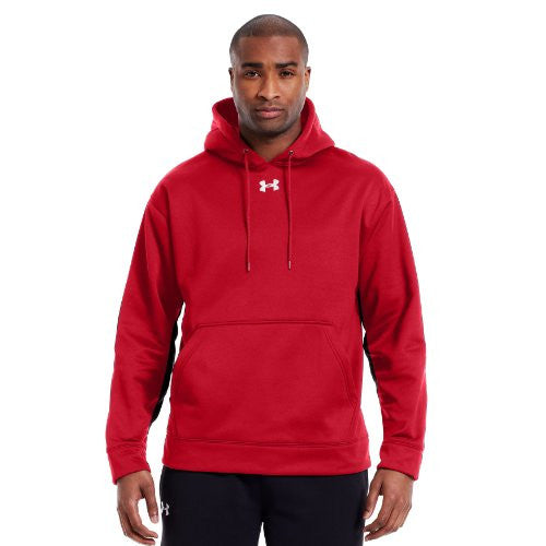 Armour Fleece Team Hoody - Red, X-Large