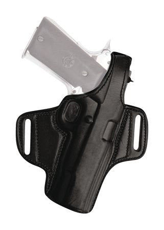 Tagua Gunleather Thumb Break Leather Belt Holster For Ruger LC9 With Laser Right Hand