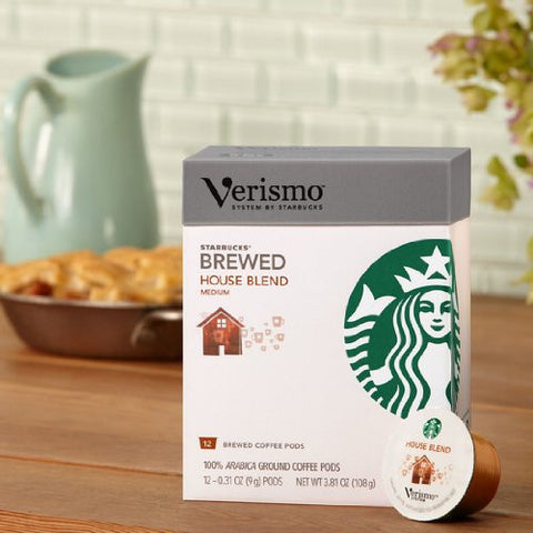 Starbucks® House Blend brewed coffee VerismoTM 12 - Pods
