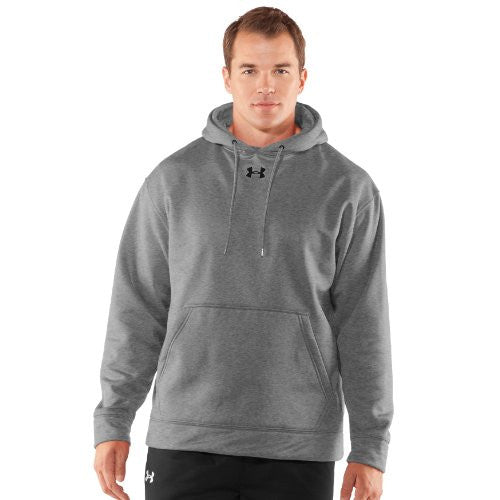 Armour Fleece Team Hoody - Heather Gray, X-Large