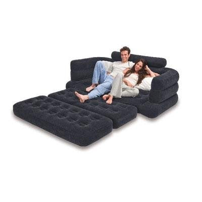 "PULL-OUT SOFA Size:76""X91""X28"""
