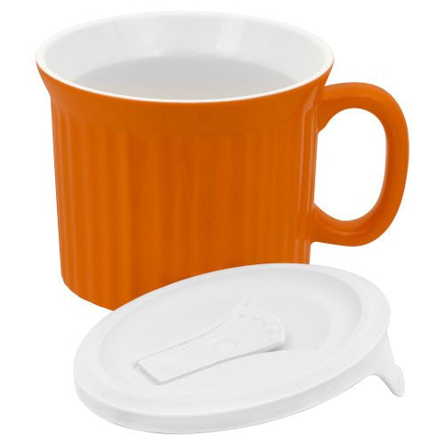 Corningware Halloween Pop-Ins Mugs, Orange
