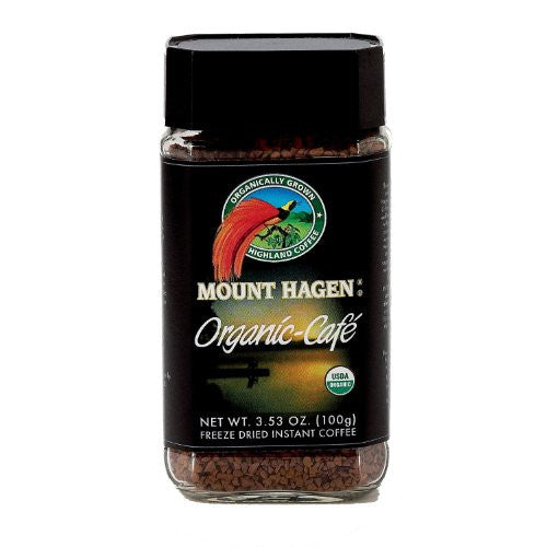 MOUNT HAGEN Organic Instant Coffee in Jar
